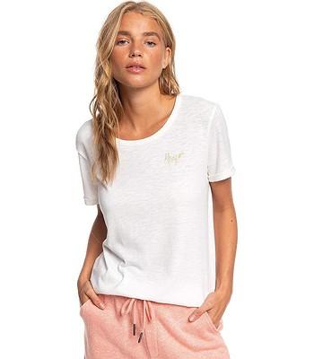 T-Shirt Roxy Oceanholic - WBK0/Snow White - women´s