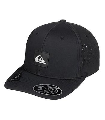 czapka z daszkiem Quiksilver Adapted Flexfit - KVJ0/Black