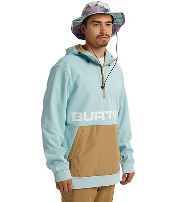 bluza Burton Crown Bonded Performance - Ether Blue/Kelp