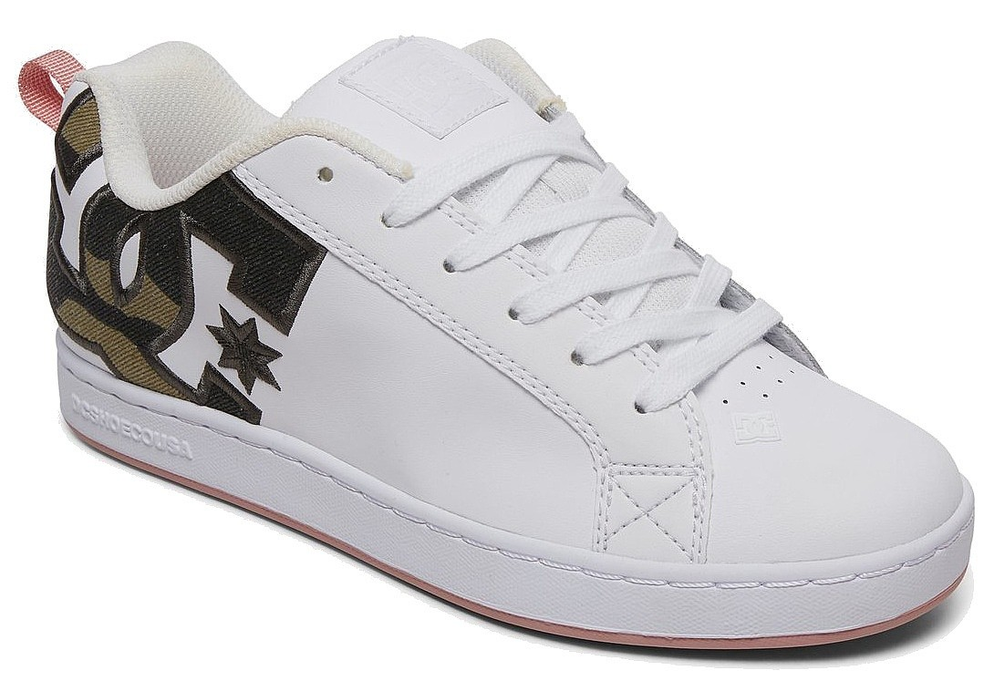 shoes DC Court Graffik SE - WTC/White