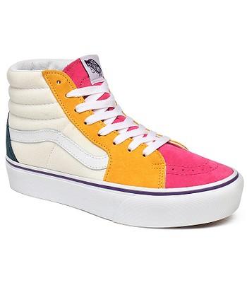 zapatos Vans Sk8-Hi Platform 2.0 - Mini Cord/Multi/True White