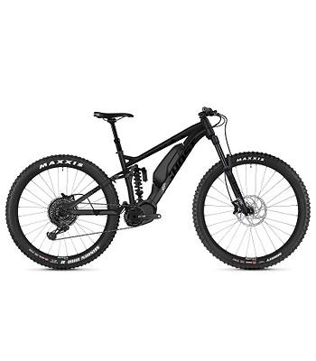Elektrobicykel Ghost Slamr X S4.7+ - Night Black/Jet Black/Iridium Silver