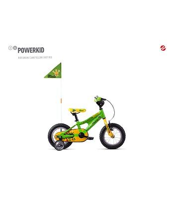 vélo Ghost Powerkid 12 - Green/Yellow - kid´s