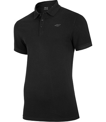 T-shirt 4F NOSH4-TSM008 Polo - 20S/Deep Black - men´s