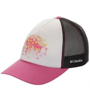 cap Columbia Mesh II Trucker - 100/White/Cactus Pink - women´s