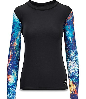 tričko Dakine Flow Loose Fit LS - Kassia Elemental