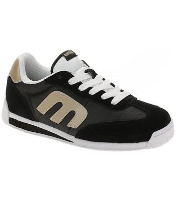 chaussures Etnies Lo-Cut CB - Black/Gold - women´s