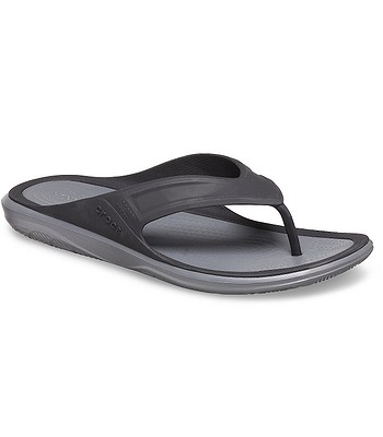 Schuhe Crocs Swiftwater Wave - Black/Slate Gray - men´s