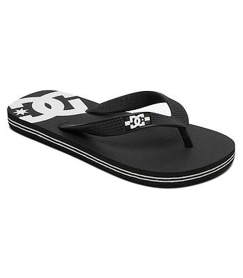 flip flops  DC Spray - BKW/Black/White - unisex junior