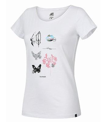 tričko Hannah Karmela - Bright White II