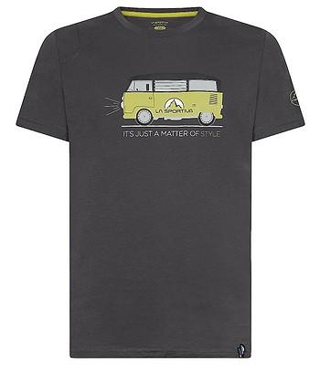 tričko La Sportiva Van - Carbon/Kiwi