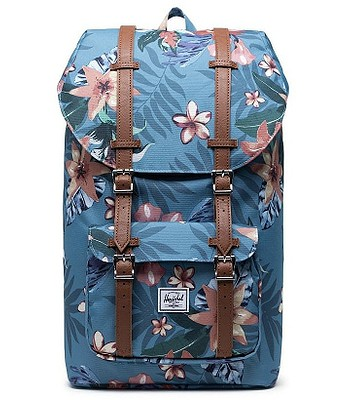 batoh Herschel Little America - Summer Floral Heaven Blue