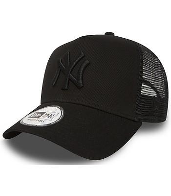 šiltovka New Era 9FO AF Clear Trucker MLB New York Yankees - Black/Black