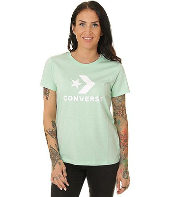 T-Shirt Converse Star Chevron/10018569 - A11/Ocean Mint - men´s