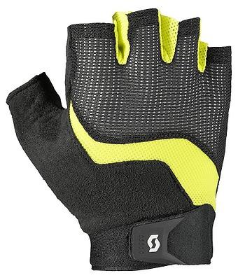 rukavice Scott Essential SF - Black/Sulphur Yellow