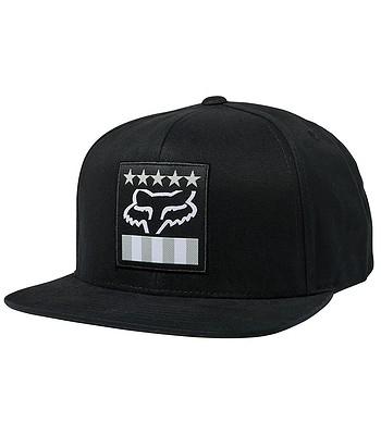 šiltovka Fox Freedom Shield Snapback - Black