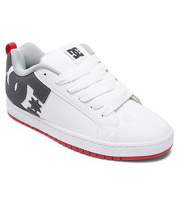chaussures DC Court Graffik - WYR/White/Gray/Red - men´s
