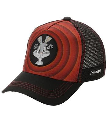 cap Capslab Looney Tunes Trucker - Bugs Bunny/Red/Black - men´s