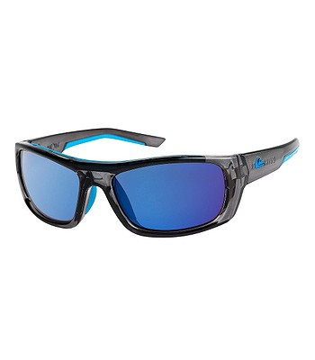 glasses Quiksilver Knockout - XSSB/Shiny Crystal Smoke/Flash Blue - men´s