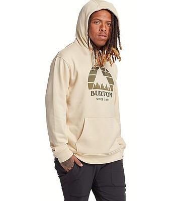 sweatshirt Burton Oak Seasonal Pullover - Créme Brulée Heather - men´s