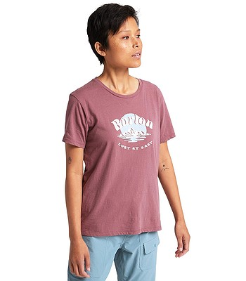 T-Shirt Burton Ashmore - Rose Brown - women´s
