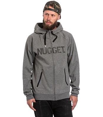 mikina Nugget Ironsight Zip - B/Dark Gray