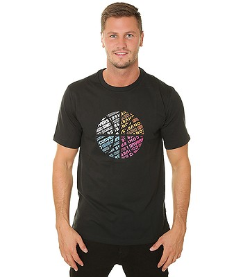 T-Shirt Converse Bball Fill/10019938 - A02/Converse Black - men´s