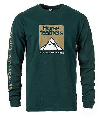 T-Shirt Horsefeathers Lex LS - Jungle - men´s