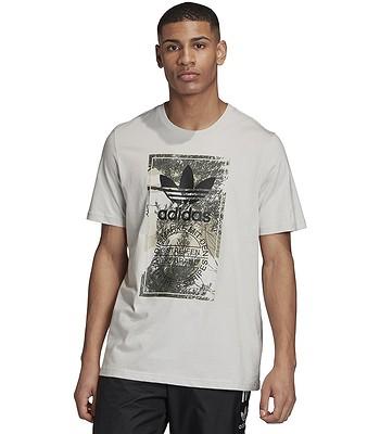 T-shirt adidas Originals Camo Tongue - Gray One - men´s