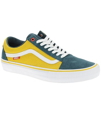 chaussures Vans Old Skool Pro - Prime/Atlantic/Gold - men´s