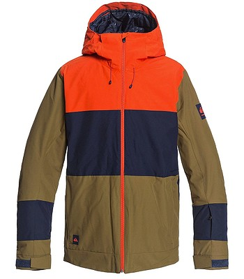 jacket Quiksilver Sycamore - CQW0/Military Olive - men´s