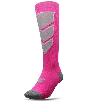 chaussettes 4F H4Z20-SODN001 - 63N/Coral Neon - women´s
