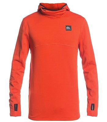 sweat-shirt Quiksilver Steep Point - NZE0/Pureed Pumpkin - men´s