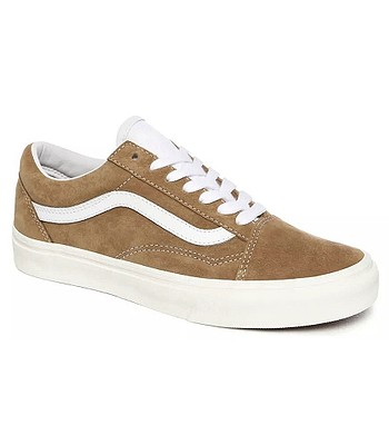 shoes Vans Old Skool - Pig Suede/Brown Sugar/Snow White