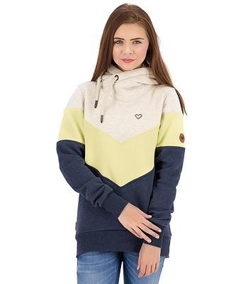 sweatshirt ALIFE AND KICKIN Stella - Pear - women´s
