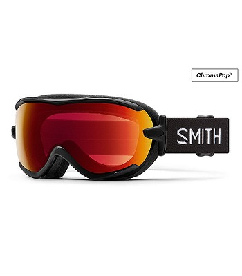 gogle Smith Virtue - Black/ChromaPop Photochromic Red Mirror