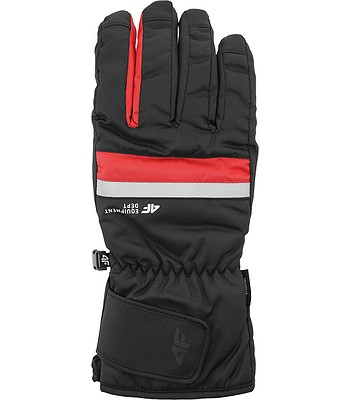 rukavice 4F H4Z20-REM006 - 62S/Red