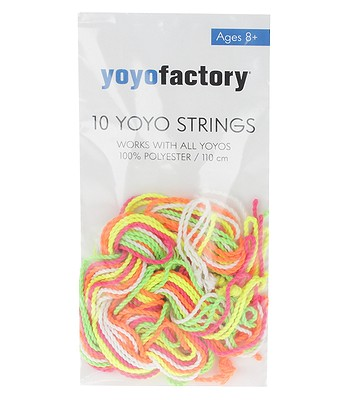 string Yoyofactory Yoyo Strings 10 Pack - Mix Color