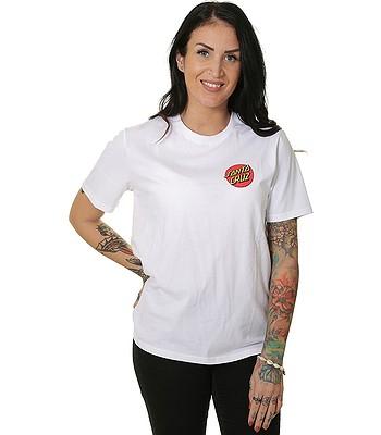 T-shirt Santa Cruz Classic Dot - White