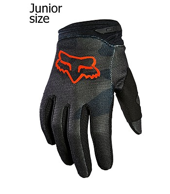 Handschuhe Fox 180 Trev - Black Camo - unisex junior