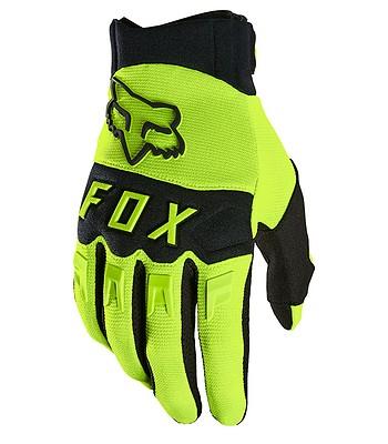rukavice Fox Dirtpaw - Fluo Yellow