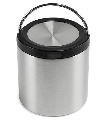 riad Klean Kanteen TK Canister Insulated/16oz - Brushed Stainless