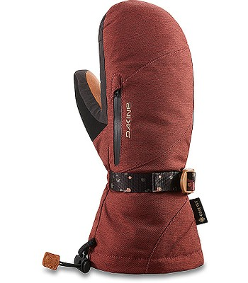 rukavice Dakine Leather Sequoia Gore-Tex Mitt - Dark Rose