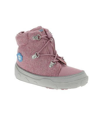 shoes Affenzahn Minimal Midboot Wool Lace Unicorn - Pink - girl´s