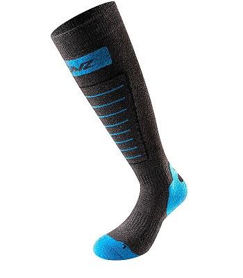 Socken Lenz Skiing 1.0 - Anthracite/Blue