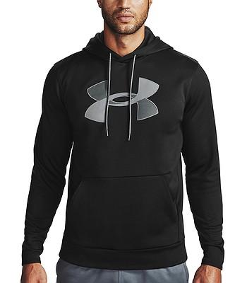 sweat-shirt Under Armour Armour Fleece Big Logo - 001/Black/Pitch Gray - men´s