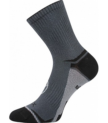 ponožky Voxx Optifan 03 - Dark Gray