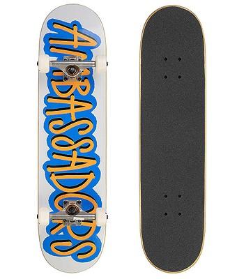 skateboard Ambassadors Fresh Complete - Blue/53