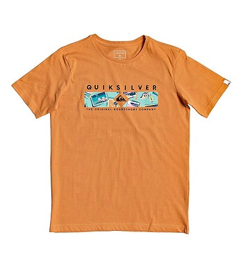 T-Shirt Quiksilver Distant Fortune - NLF0/Apricot Buff - boy´s