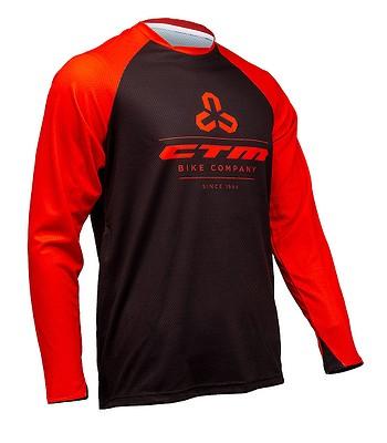Fahrradanzug CTM Enduro Line LS - Red/Black - men´s